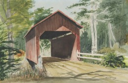 Vermont Covered Bridge by Bob Henry
